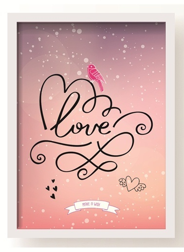 Love Poster-All About Wall
